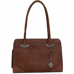 Beautiful brown faux leather purse